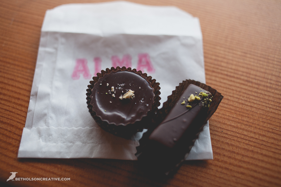 ... -leafed Icons. Thai peanut butter cup and a pistachio inspired treat