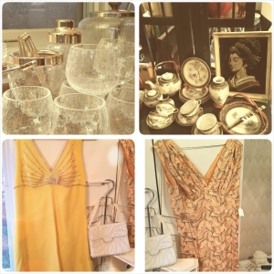 Party dresses and flatware for any occasion.
